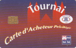 "FRANCE - Tournai Centre Ville, Carte D""Acheteur Privilegie, Used - Andere Sammlungen"