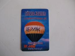 Remax Infantado Portugal Portuguese Pocket Calendar 2006 - Calendari