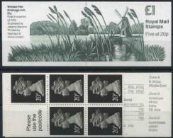 1989 Gran Bretagna, FH18 Mills Series Libretto, Francobolli Nuovi (**) - Libretti