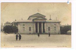 CPA (50) SAINT-LO - Le Palais De Justice  - Animé - (011) - Saint Lo