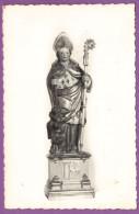 SAINT-GERMAIN-SUR-BRESLE - Statue Du Saint En Bois Polychromé XVIIIe S. Carte Circulé 1961 - France