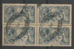 George V 10s Blue Yt 155 - Oblitérés