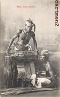 SRI-LANKA CEYLAN TOM TOM BEATERS MUSICIEN MUSIQUE ETHNOLOHIE ETHNIE MUSIC CEYLON INDIA - Sri Lanka (Ceylon)
