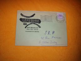 ENVELOPPE UNIQUEMENT DE 1977. / LIBRAIRIE LEFEBVRE / BRUXELLES POUR IVRY. / CACHET + TIMBRE. - Unclassified