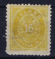 Iceland: 1873 Mi Nr 5 B MNH/**  Postfrisch  Perfo 12,50 - Ongebruikt