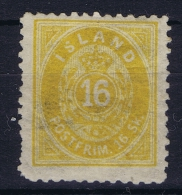 Iceland: 1873 Mi Nr 5 B MNH/**  Postfrisch  Perfo 12,50 - Neufs