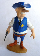 FIGURINE LUCKY LUKE RESINES ATLAS - 2003 - LUCKY LUKE - SHERIF (1) - Figurines