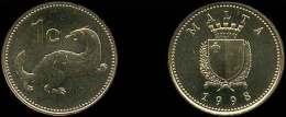 MALTA 1 Céntimo 1.998 Cobre-Zinc KM#93  SC/UNC       T-DL-10.319 - Malta