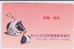 ZODIAC - JAPAN-008 - YEAR OF THE BUFFALO - 110-630 MODEL DESIGN CARD - Zodiaco