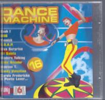 Disque CD DANSE MACHINE 16 De 1998 Diva Surprise Sash Cometz Hermes House Band Yannick Sandy Valentino Bacon Popper - Hit-Compilations