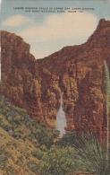 Texas Big Bend National Park Lower Window Falls In Upper Oak Creek Canyon - Big Bend