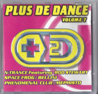 Disque CD PLUS DE DANSE V 7 N TRANCE SPACE FROG BELLINI PHENOMENAL CLUB MEPHISTO IXXEL GERALDINE LAMBOA  RED'S RME - Compilations