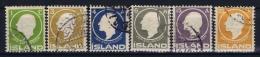 Iceland: 1911 Mi Nr 63 - 68 Used - Used Stamps