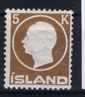 Iceland: 1912 Mi Nr  75  MNH/**  Fa Nr 120 Has A Light Small Fold At Top - Neufs