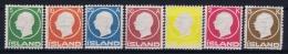 Iceland: 1912 Mi Nr  69 - 75, MNH/**  Postfrisch Fa 114 - 120 - Ongebruikt