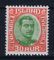 Iceland: 1920 Mi Nr 93  MH/*  Fa 141 - 1918-1944 Administration Autonome