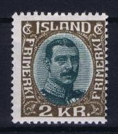 Iceland: 1920 Mi Nr 97  MH/*  Fa 143 - 1918-1944 Administration Autonome