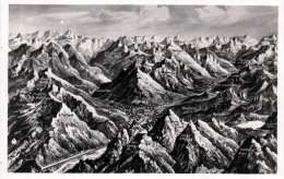 SCHRUNS Und Umgebung Aus Der Vogelperspektive, Fotokarte Um 1930? - Schruns