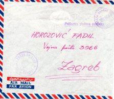 YOUGOSLAVIE. Enveloppe De 1958. United Nations Emergency Force In Egypt 1956-59. - 1945-1992 Socialist Federal Republic Of Yugoslavia