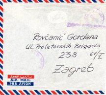 YOUGOSLAVIE. Enveloppe De 1958. United Nations Emergency Force In Egypt 1956-59. - 1945-1992 République Fédérative Populaire De Yougoslavie