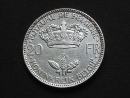 20 Francs 1935 Leopold III -Royaume De  BELGIQUE  *** EN ACHAT IMMEDIAT **** - 1934-1945: Leopold III