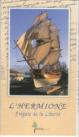 L' HERMIONE FREGATE DE LA LIBERTE - Boats
