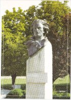 Moldova  Moldavie Moldawien ,  Pre-paid Postcard  , 2009 , Poet M.Eminescu ; Monument ; Criuleni ; FDC. - Moldova