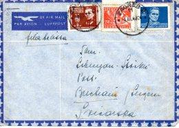 YOUGOSLAVIE. Belle Enveloppe De 1947 à Destination De La Suisse. Tito/Partisans. - 1945-1992 République Fédérative Populaire De Yougoslavie
