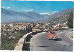 AOSTA  (m. 575)  -  Panorama  -  Sfondo  Ghiacciaio  Del  Rutor - Aosta