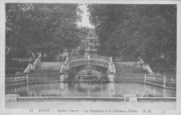 Dijon Square Darcy La Fontaine Et Le Château D'eau - Dijon