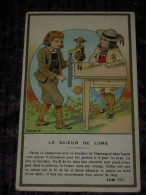 Jolie Chromo Magie TOM TIT - Chocolaterie Du Prado à Marseille : Le Scieur De Long - Tbe - Andere