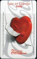 2004 Calendario Plastificato Tascabile ´Coca Cola´ (Fronte E Retro) - Calendarios