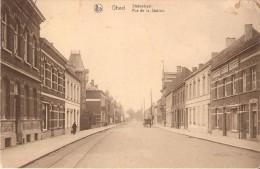 GHEEL / GEEL (2440) : Statiestraat - Rue De La Station. CPA Très Rare Pour Cette Partie De La Rue. - Geel