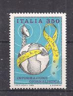 ITALIA 1985 INFORMAZIONE GIORNALISTICA SASS. 1699 MNH XF - 1981-90:  Nuovi