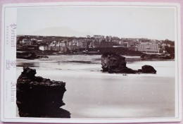 LOT DE 2 PHOTOS EDITEUR BAYONNE+2 PHOTO EDITEUR BIARRITZ-E.L BAYONNE-PACAULT PAU - Luoghi