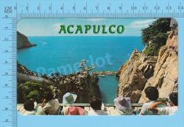 CPSM, México ( Quebrada Acapulco ) POSTCARD 2 SCANS - Mexique