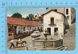 CPSM, México ( Fuente Colonial, Taxco  ) POSTCARD 2 SCANS - Mexique