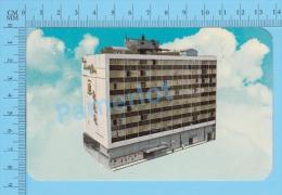 CPSM, México ( Hotel Purua Cristobal Colon , Sur-realisme ) POSTCARD 2 SCANS - Mexique