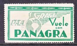 Bolivia     AERO    *  PANAGRA  FLIGHT LABEL - Bolivia
