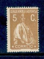 Portugal - 1917 Ceres 5 C (Perf. 15 X 14) - Af. 227 - No Gum - Nuevos
