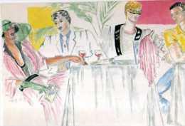 75  Restaurant Le Petit Prince Rue De Lanneau, Restaurant Caviar Et Compagnie Rue De Reuilly, Illustrateur, Jeunes Gens - Cafés, Hôtels, Restaurants