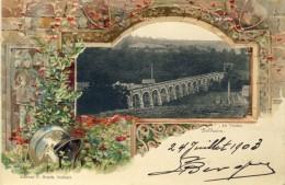 Dolhain - Le Viaduc - Jolie Carte Couleur Et En Relief -1903 ( Voir Verso ) - Limbourg