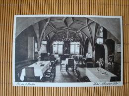 """Bernau Bei Berlin, Hotel""""Schwarzer Adler"""", Gelaufen 1933 ! - Deutschland"""