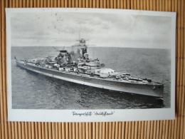 """Panzerschiff """"Deutschland"""", Gelaufen 1939 ! - Krieg"""