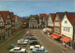 V23 ALLEMAGNE CPSM 1970 RINTELN WESER MARKTPLATZ VOITURES NEUVE  VOIR DOS - Schaumburg