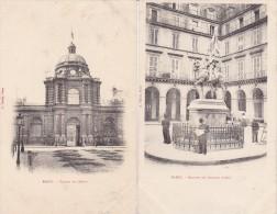 PARIS 75 LOT DE 7 CARTES PRECURSEURS MONUMENTS DIVERS  RARE !!! - Otros Monumentos