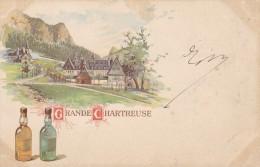 GRANDE CHARTREUSE  PUBLICITE BELLE CARTE  RARE !!! - Werbepostkarten