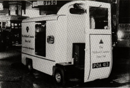 Postcard Electric Milk Float Midland Counties Dairy 1954 Commercial Motor Show - Cartoline