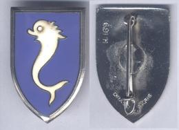 Insigne Du 12e Régiment De Cuirassiers - Armée De Terre