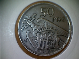 Espagne 50 Pesetas 1957/ 59 - [ 5] 1949-… : Royaume